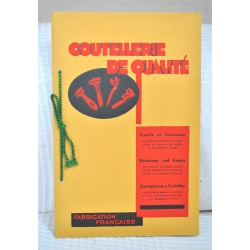 CATALOGUE COURSOLLE THIERS (63) COUTEAUX CANIFS