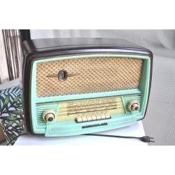 POSTE DE RADIO SONNECLAIR VERT MINT