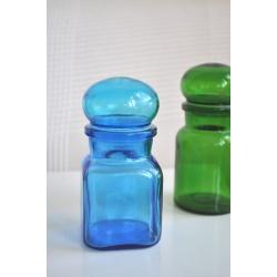 POT BOCAL vintage ARIEL bleu