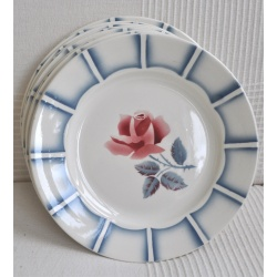 "ASSIETTE plate ""DAUPHIN"" Digoin Sarreguemines"