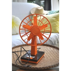 VENTILATEUR ORANGE INDOLA SEVENTIES