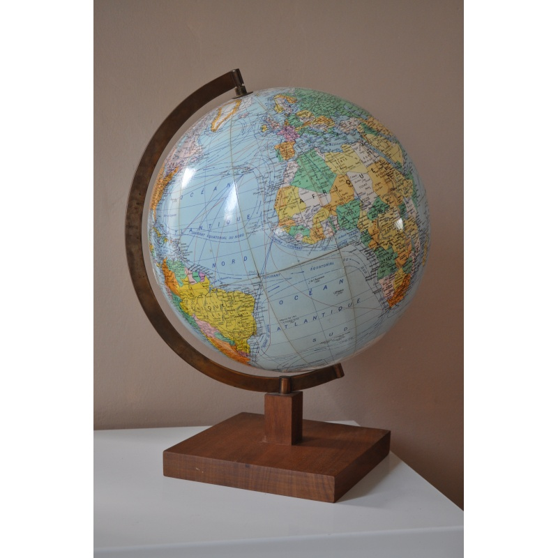 globe terrestre girard et barrere twist 39 n broc. Black Bedroom Furniture Sets. Home Design Ideas