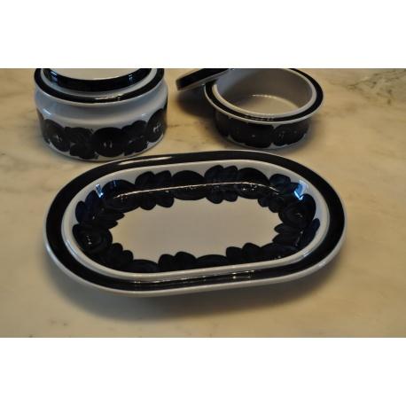 ARABIA Anémone Plat-Assiette ovale de service