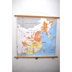 CARTE SCOLAIRE CHINE - INDE et PAKISTAN