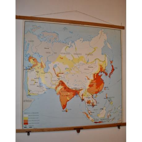 CARTE SCOLAIRE ASIE du SUD-EST et ASIE population, états