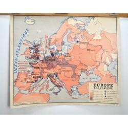 CARTE SCOLAIRE AFRIQUE - EUROPE