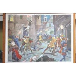 """AFFICHE SCOLAIRE """"Tableaux d'Histoire N°29-30"""""""