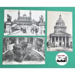 CARTES POSTALES ANCIENNES PARIS 1900