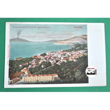 CARTE POSTALE ANCIENNE SORRENTE - ITALIE 1900