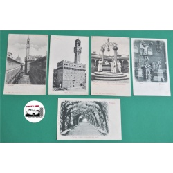 CARTES POSTALES ANCIENNES - FIRENZE (FLORENCE) ITALIE