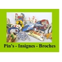 PIN'S - INSIGNES - BROCHES